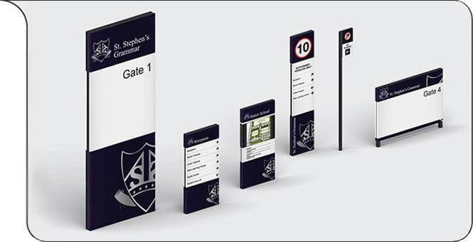 External Signage: eCORE Signage Systems