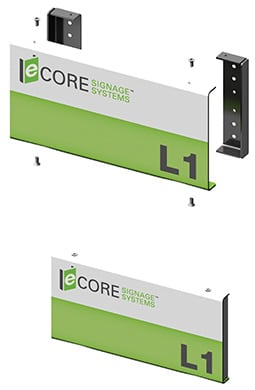 Modular Sign System - Technical Information: eCORE Signage Systems