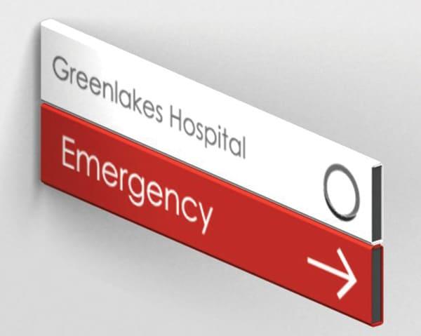Hospital Wayfinding Solutions | Hospital Signage: eCORE Signage Systems