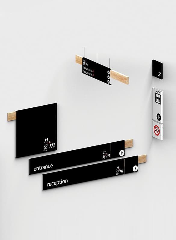 Internal Wayfinding Design | Wayfinding System: eCORE Signage Systems